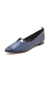 10 Crosby Derek Lam Romee Too Slit Loafers