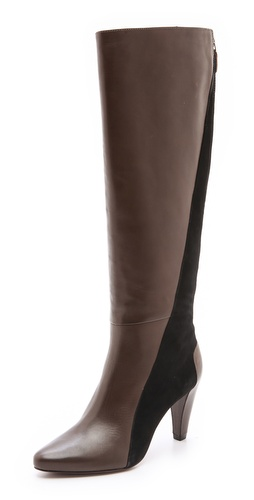 10 Crosby Derek Lam Sammie Two Tone Tall Boots - Shopbop