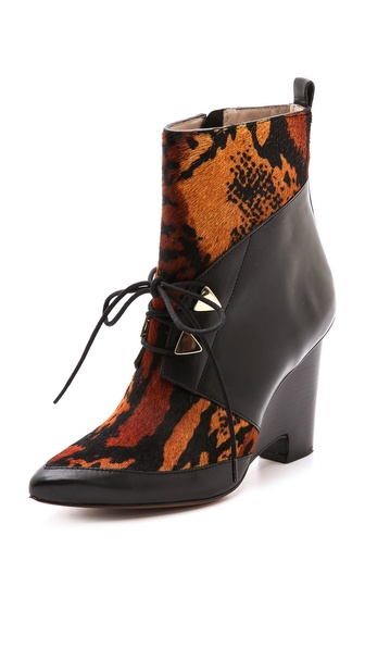 10 Crosby Derek Lam Yola Wedge Booties