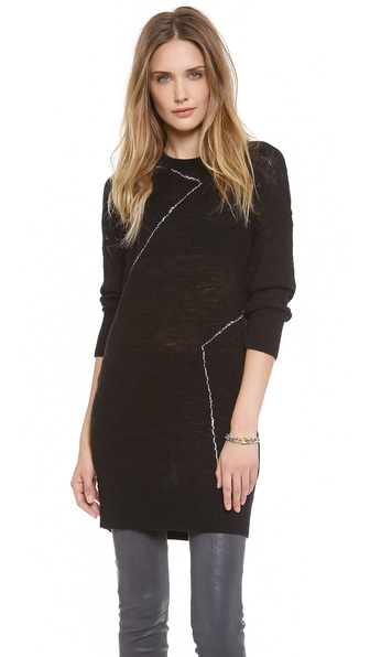 10 Crosby Derek Lam Distressed Knit Tunic