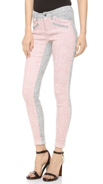 10 Crosby Derek Lam Skinny Colorblock Pants