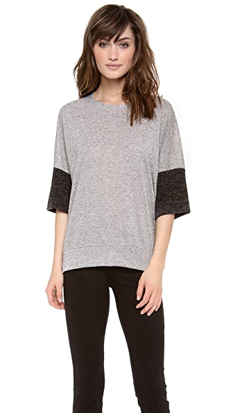 Derek Lam 10 Crosby Drop Shoulder T-Shirt