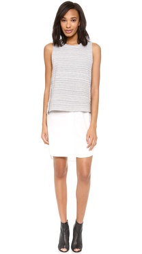 10 Crosby Derek Lam 2 in 1 Combo Tank Dress