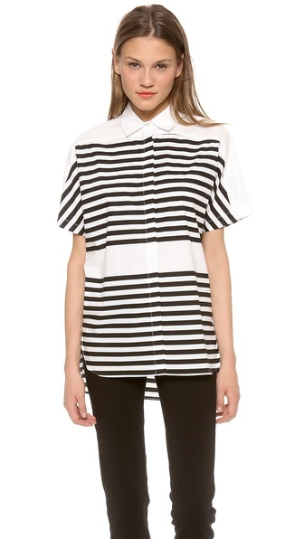 10 Crosby Derek Lam Striped Shirt