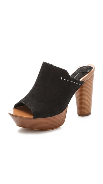 10 Crosby Derek Lam Katy Platform Mules - Black at Shopbop / East Dane