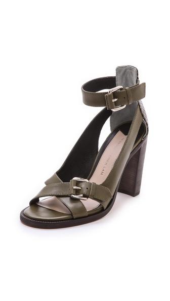 10 Crosby Derek Lam Safra Ankle Strap Sandals