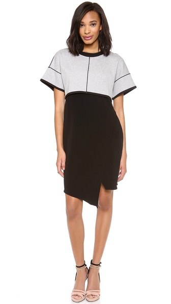 10 Crosby Derek Lam 2 in 1 Combo Dress
