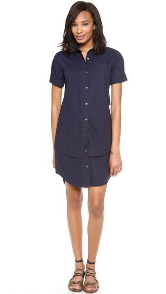 10 Crosby Derek Lam Poplin Shirtdress