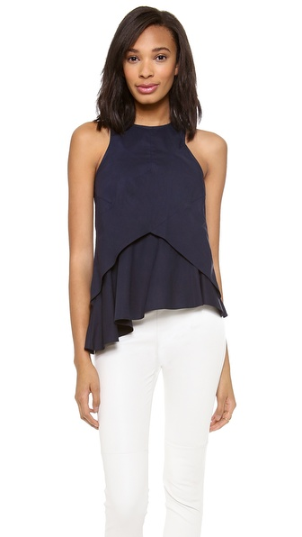 10 Crosby Derek Lam Seamed Shell Top