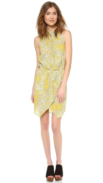 10 Crosby Derek Lam Drawstring Waist Dress