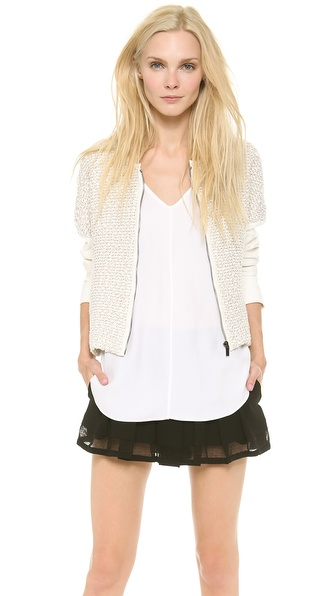 10 Crosby Derek Lam Rounded Jacket