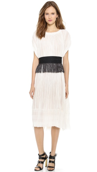 10 Crosby Derek Lam Pleated Dress
