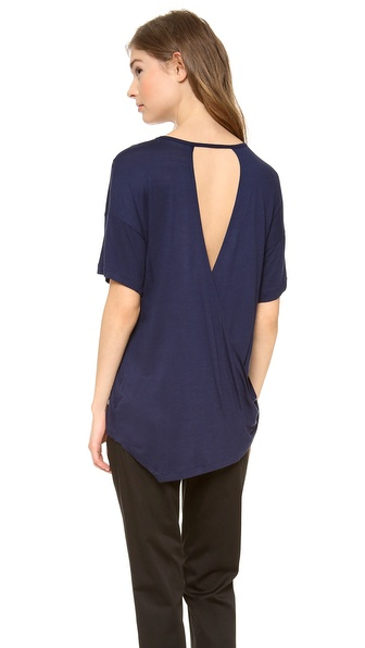 10 Crosby Derek Lam Open Back Tee