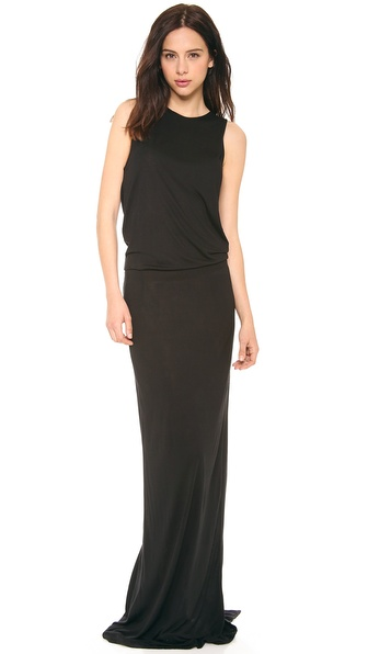 10 Crosby Derek Lam Knit Back Maxi Dress