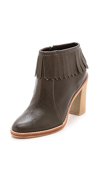 Derek Lam 10 Crosby Monet Fringe Booties