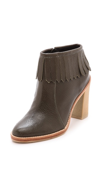 10 Crosby Derek Lam Monet Fringe Booties