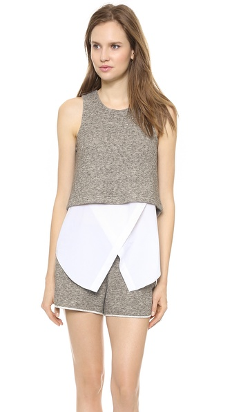 10 Crosby Derek Lam Layered Tank
