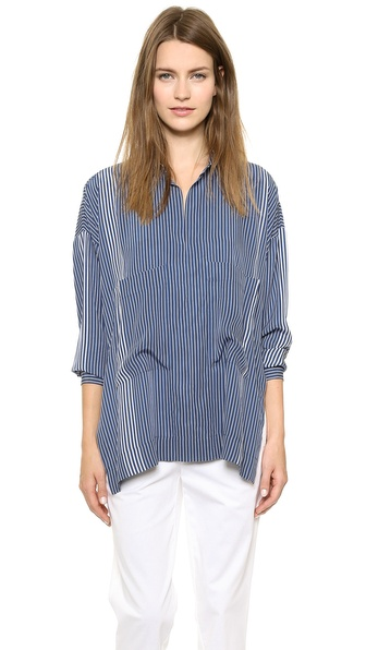 10 Crosby Derek Lam Oversized Two Pocket Top