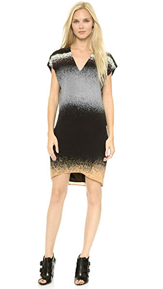 Derek Lam 10 Crosby V Neck Dress