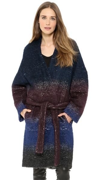Derek Lam 10 Crosby Oversized Belted Coat