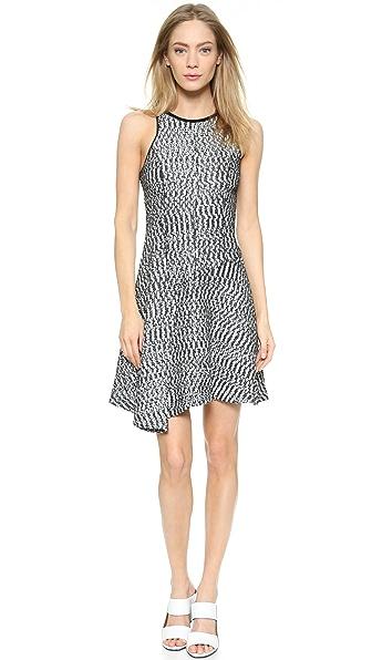 Kupi Derek Lam 10 Crosby haljinu online i raspordaja za kupiti Derek Lam 10 Crosby Sleeveless Asymetrical Dress Black/White online