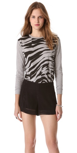 Cecile All Over Zebra Tee