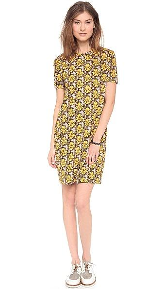 Etre Cecile Neon Floral Dress