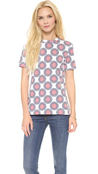 Etre Cecile Circles Stripe T-Shirt