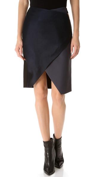 Cedric Charlier Wrap Skirt