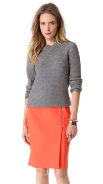 Cedric Charlier Crossover Sweater