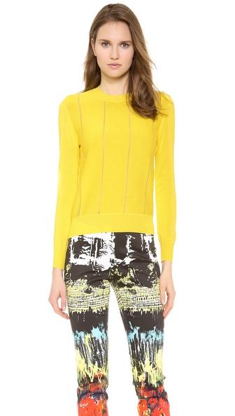 Cedric Charlier Shadow Stripe Sweater
