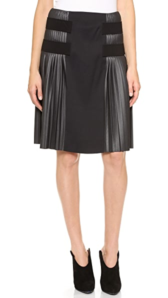 Cedric Charlier Pleated Skirt
