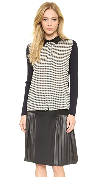 Cedric Charlier Long Sleeve Top
