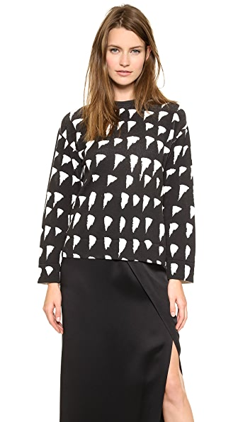 Cedric Charlier Long Sleeve Sweater