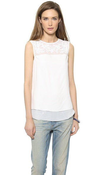 Cooper & Ella Embroidered Blouse