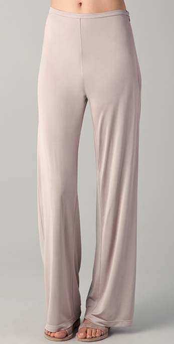 Chalayan Grey Line Wide Leg Pants