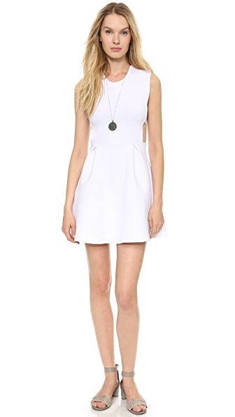 Chalk Field Side Cutout Dress
