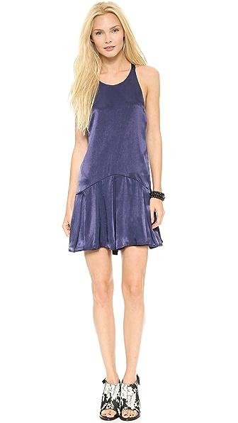 Платье Quarter с перекрещенной спиной Chalk