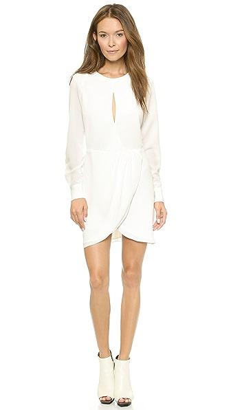 Платье Rule Chalk. Цвет: белый