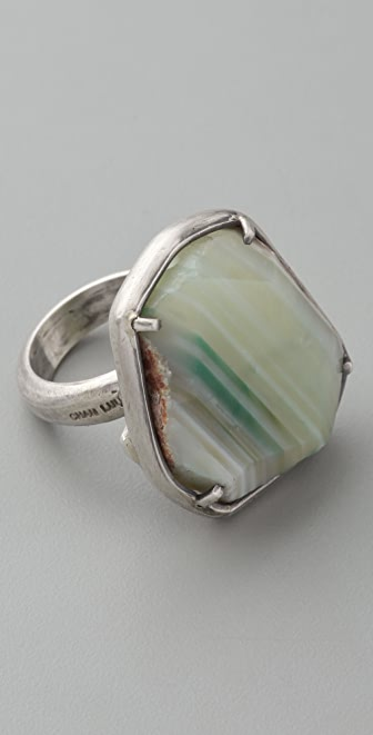 Chan Luu Green Agate Ring