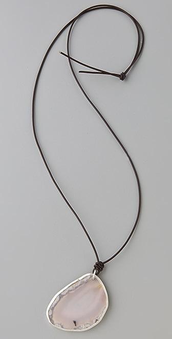 Chan Luu Grey Agate Necklace