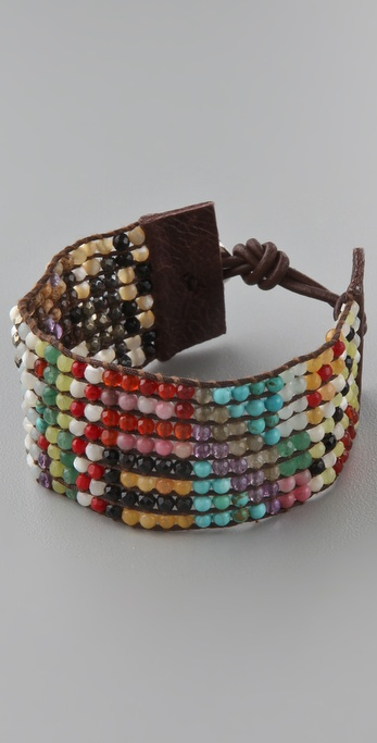 Chan Luu Multicolored Beaded Bracelet
