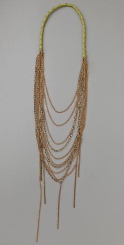 Chan Luu Brass Chain Necklace