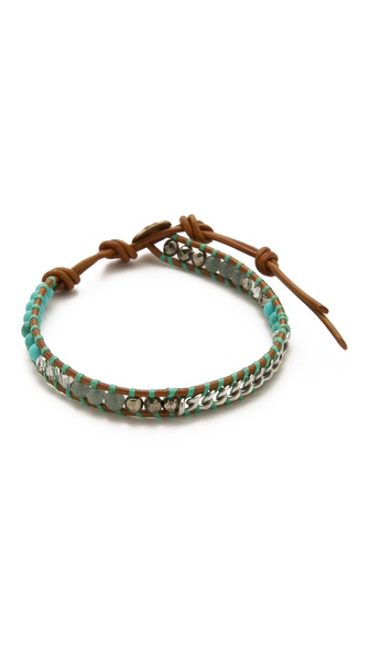 Chan Luu Beaded Single Strand Bracelet