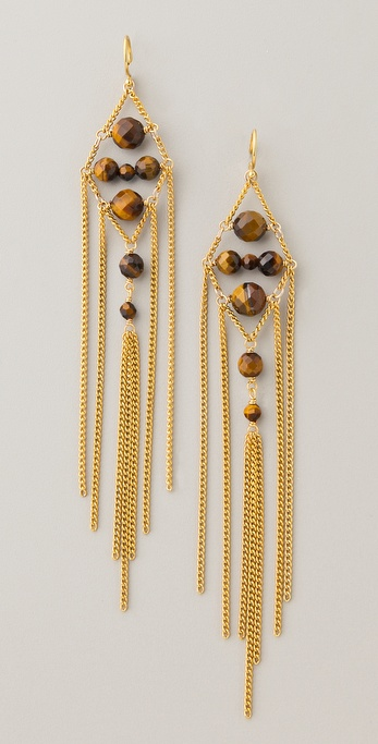 Chan Luu Chain & Bead Earrings