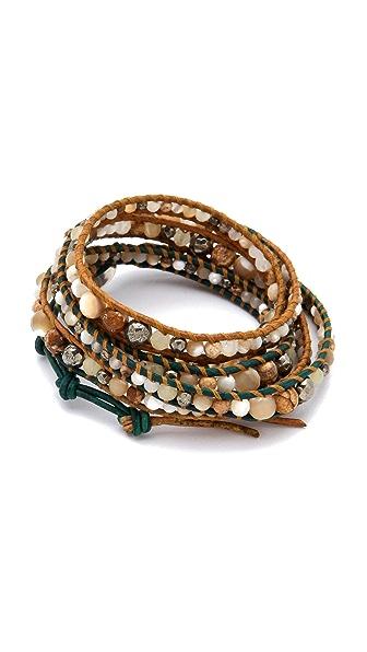 Chan Luu Natural Stone Wrap Bracelet