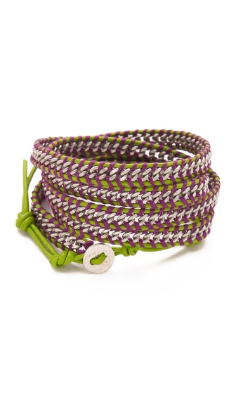 Chan Luu Chain Wrap Bracelet