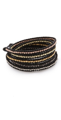 Chan Luu Mixed Nugget Wrap Bracelet