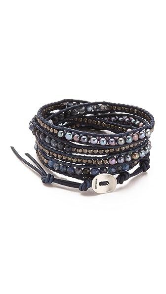 Chan Luu Dark Wrap Bracelet