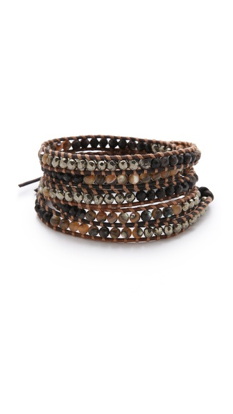 Chan Luu Abalone Wrap Bracelet